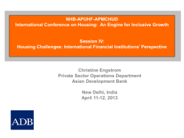 Ms. Christine Engstrom, Principal Investment Specialist, Asian