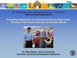 promoting employment and entrepreneurship for