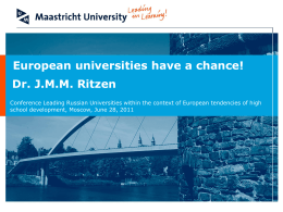 Slides - Empower European Universities