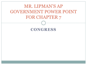 APGOV Power Point chapter 7