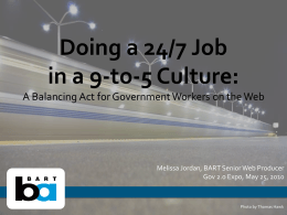 Doing a 24_7 Job in a 9-to-5 Culture_ A Balancing Act for