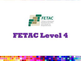 FETAC Level 4 Training - Cavan Adult Education