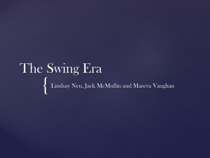 The Swing Era - Matt Hoormann, Trombonist