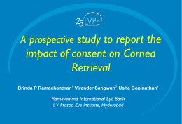 Brinda Ramachandran_A prospective study to report the impact of