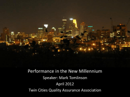 Details… - Twin Cities Quality Assurance Association (TCQAA)