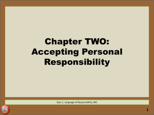 3. CH2-Accepting Personal Responsibility