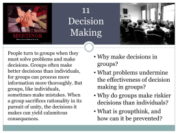 11 Decision Making - team7