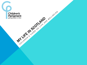 Children`s Parliament: My Life in Scotland