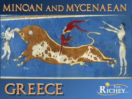 Minoan and Mycenaean Greece