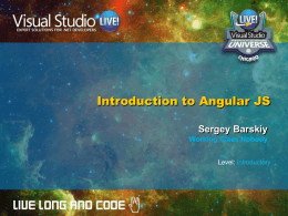 Angular Slides - Sergey Barskiy`s Blog