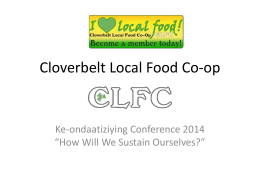 Cloverbelt Local Food Co-op - Ke