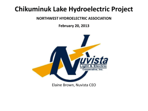 Elaine Brown - Northwest Hydroelectric Association