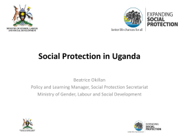 Social Protection in Uganda