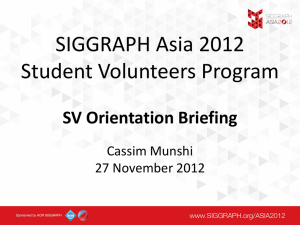 SV Briefing2 – Cassim