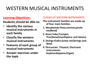SS2 Music Lesson Note Wk 2