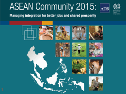 Managing integration for better jobs and shared prosperity