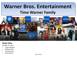The Warner Bros. Entertainment Experience