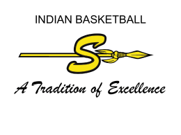 Parent Meeting - SEMINOLE INDIAN BASKETBALL