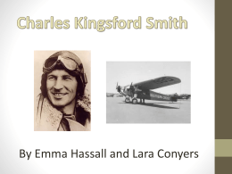 Charles Kingsford Smith Powerpoint