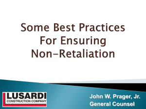 Some Best Practices For Ensuring Non