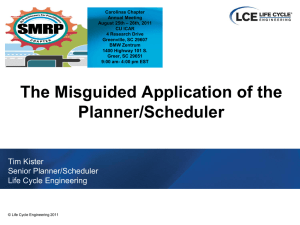 Careless Planner/Schedulers
