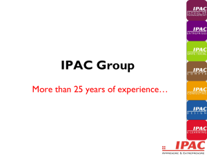 IPAC Group, France