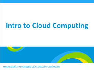Cloud Computing - Adform | Academy