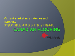 Canadian Flooring