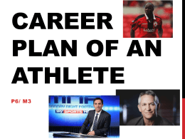 Career plan of an athlete - Oxford United Youth & Community Sports