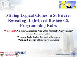Mining Logical Clones in Software: Revealing High