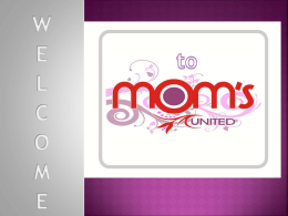 How we help - The Mom`s United Group