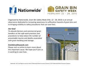 Grain Bin Safety Week February 22 * 28, 2015