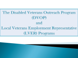 LVER - National Veterans` Training Institute