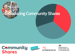 Simon Borkin (Community Shares Unit) Presentation
