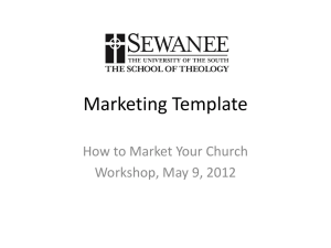 Marketing Template