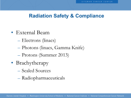 Radiation Safety & Compliance