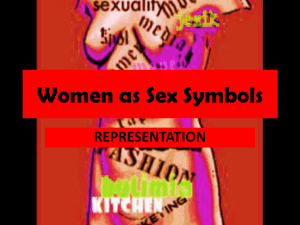 Women as Sex Symbols