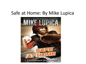 Safe at Home: By Mike Lupica - Fitz