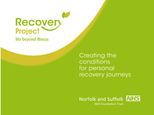 Recovery Approach - Voluntary Norfolk