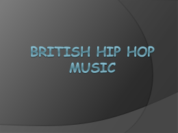 British Hip hop music