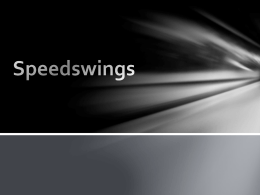 Speedswings - Western Railway Equipment