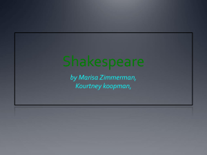 Shakespeare_marisa`s power point2