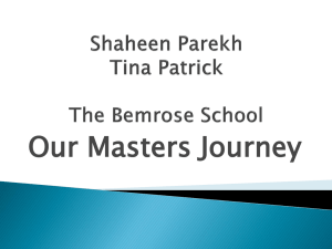 Shaheen Parekh and Tina Patrick