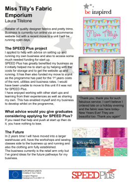 Miss Tilly`s Fabric Emporium