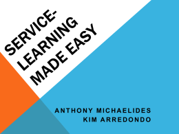 Service-Learning Made Easy