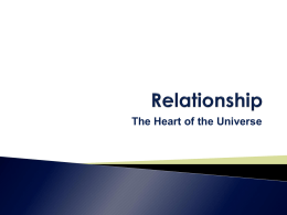 Relationship Diagram ppt