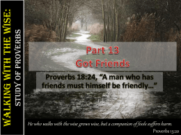 Part 13-Got Friends | PPT
