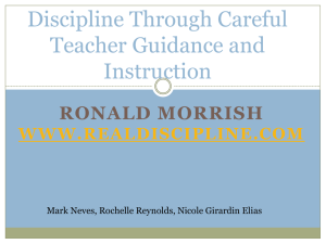 Ronald Morrish - Inclusive Special Education Wiki
