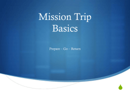 Planning your mission trip - Haiti Education Foundation
