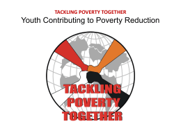 TPT-LG1-Slides - Tackling Poverty Together